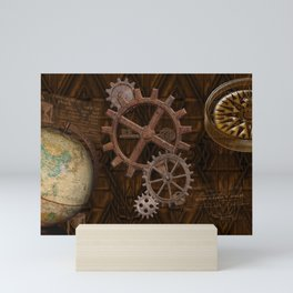 Comforts of Steampunk Mini Art Print