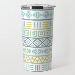 Aztec Influence Ptn Colorful Travel Mug