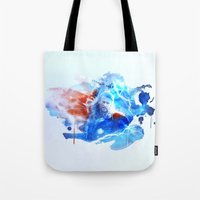 thor Tote Bags featuring Thor by Rose's Creation