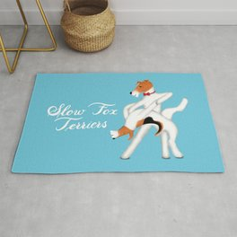 Slow Fox Terriers Rug
