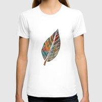 autumn T-shirts featuring Autumn Pattern by Klara Acel