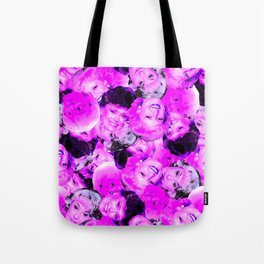 Golden Girls Toss in Electric Pop Pink Tote Bag