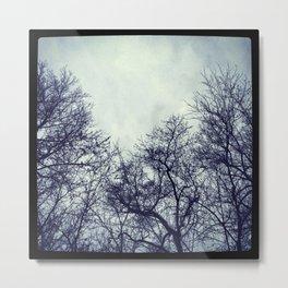 The Sky at Dusk Metal Print