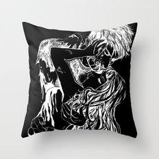 Necromantic 2.0 Throw Pillow
