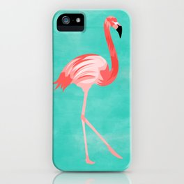 Flamingo Bird iPhone Case