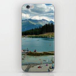 adventure park hög alps serfaus fiss ladis tyrol austria europe iPhone Skin