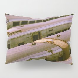 Train Yard Pillow Sham