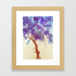 Water Your Tree of Life. Framed Art Print