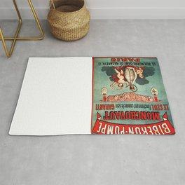 Vintage poster - Biberon-Pompe Rug