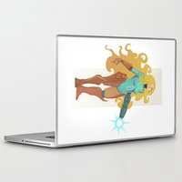 samus Laptop & iPad Skins featuring Samus by Tim Kaminski