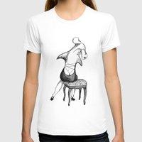 shark T-shirts featuring Shark by Ilya kutoboy