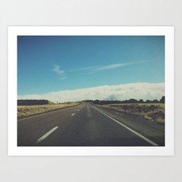 Idaho Cloud  Art Print