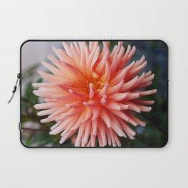 Dahlia in Peach Laptop Sleeve