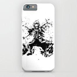 Kirishima Eijiro Ink Splatter iPhone Case