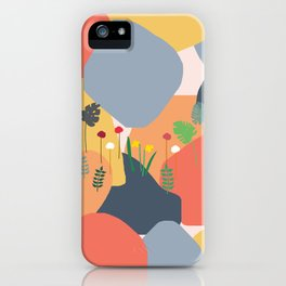 Blobs of Color iPhone Case