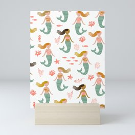 Seren Sirens Mermaids Mini Art Print