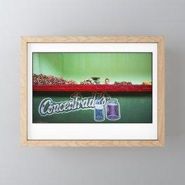 Greens! Framed Mini Art Print