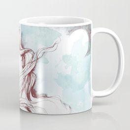 Dreaming about wolves Coffee Mug