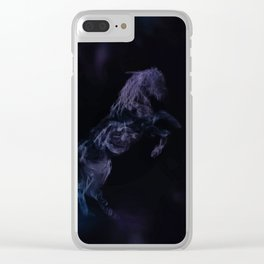 Mystic Horse Clear iPhone Case