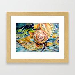 Take It Slow Framed Art Print