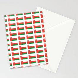 flag of oman ,عمان ,omani,Suwayq,muscat,dishdaska. Stationery Cards