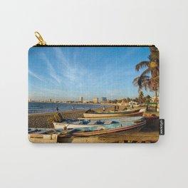 Mazatlan Beach & Boats Carry-All Pouch