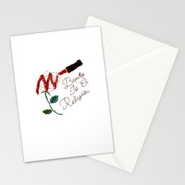 BeautyIsAReligion `Rose Lippy` Stationery Cards