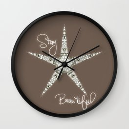 STAR Wall Clock