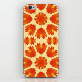 Colorful Floral Print Vector Style iPhone Skin
