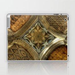 Peterborough Cathedral Roof Laptop & iPad Skin