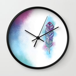 Color freedom Wall Clock