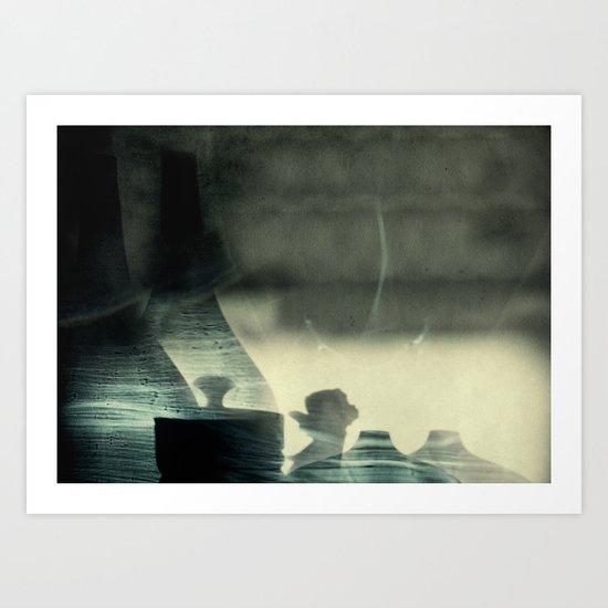 angel whispers Art Print