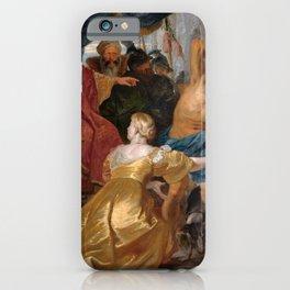 Peter Paul Rubens - The Judgement of Solomon iPhone Case