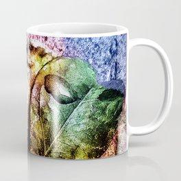 Water drop on green heart leaf - A pitangueira Coffee Mug