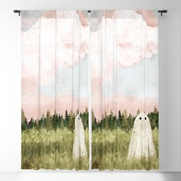 Cotton candy skies Blackout Curtain