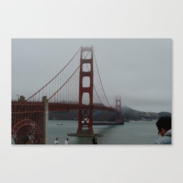 Golden Gate Bridge Print Canvas Print