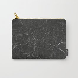 Silver Berlin City Map Carry-All Pouch