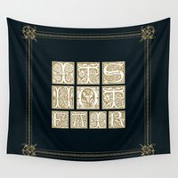 labyrinth Wall Tapestries featuring Labyrinth by MacGuffin Designs
