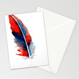 feather  3 Stationery Cards