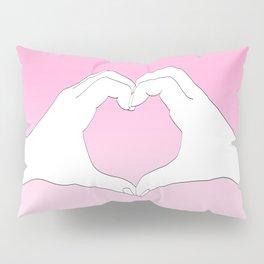 Hearted Hands Pillow Sham