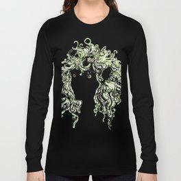 Female elf profile 1 Long Sleeve T-shirt