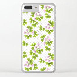 Field clover Clear iPhone Case