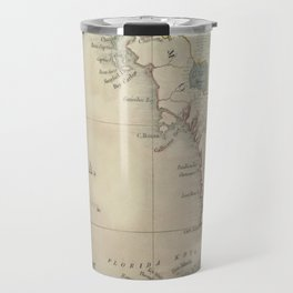 Antique Florida Keys Map Travel Mug