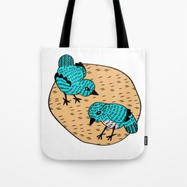 Cooky Birds Tote Bag
