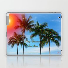 Merry Christmas from Miami Laptop & iPad Skin