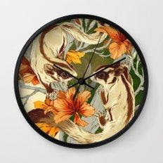 Sugar Gliders Wall Clock