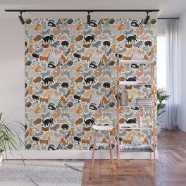 Cats Forever by Veronique de Jong Wall Mural