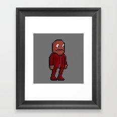 Choco, Survie Jumpsuit Framed Art Print
