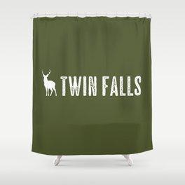 Deer: Twin Falls, Idaho Shower Curtain