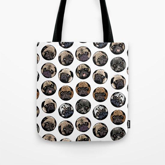 Pugka Dot Tote Bag